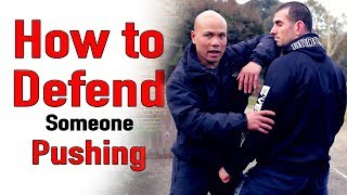 How to Defend Someone Pushing you - EP 1