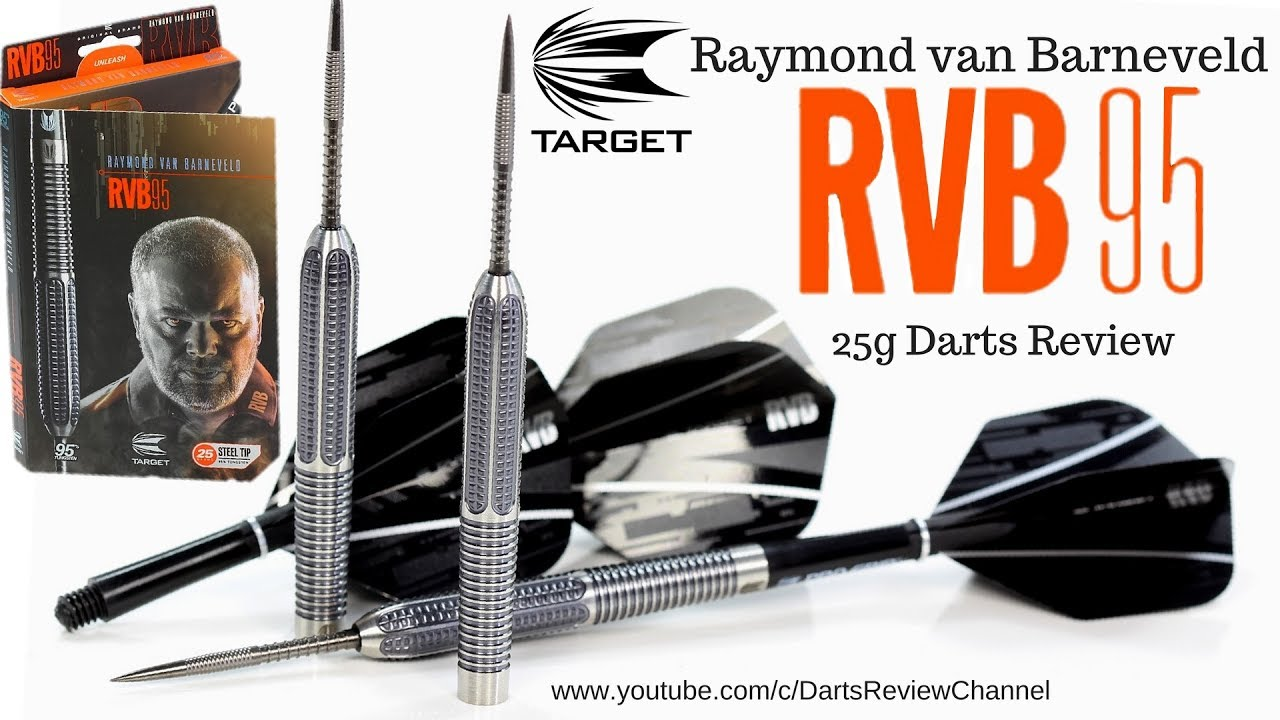 Target Raymond van Barneveld RVB 95 25g darts review