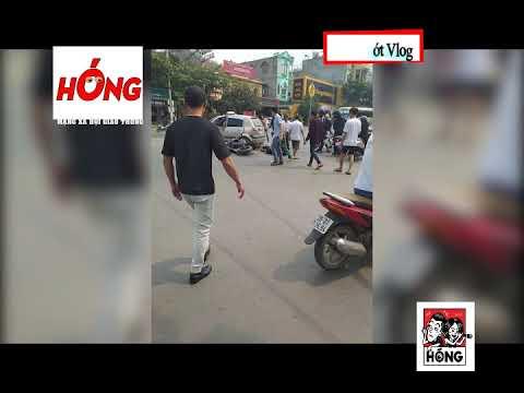 Tp Sơn La Đi xe Phân Khối Lớn phóng kinh hoàng tông ngang xe Taxi, 2 nam thanh niên bất tỉnh
