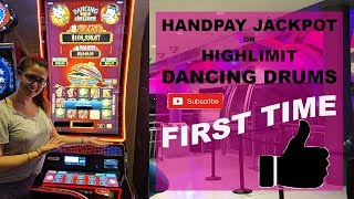Nice Jackpot Handpay | High Limit Dancing Drums | $52/Bet | Cosmopolitan Las Vegas