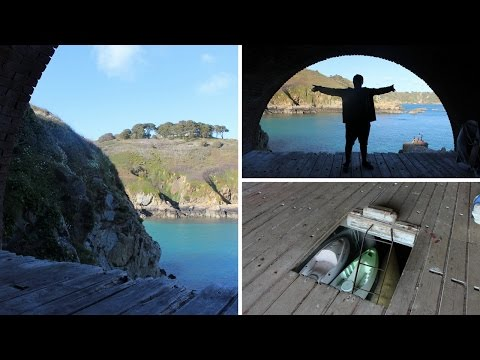 Exploring Fisherman's Landing - Saints Bay, Guernsey