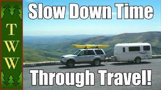 How Travel Slows Down Time
