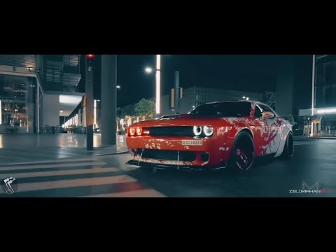 Dodge Challenger, Post Malone   Rockstar ft  21 Savage Ilkay Sencan Remix Bass Boosted