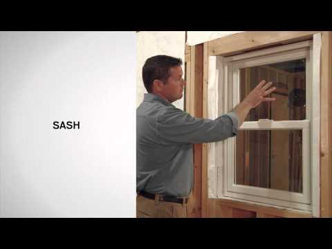 Identifying the Parts of Andersen® 200 Series Double-Hung Windows