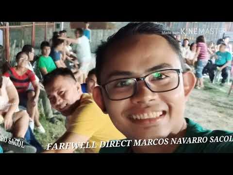 FAREWELL DIREK MARCOS NAVARRO SACOL