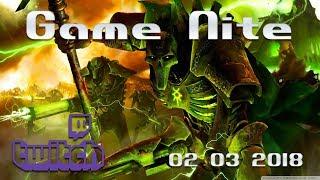 Game Nite Dawn of War Dark Crusade 02 03 2018