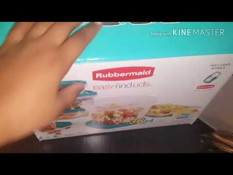 REVIEW ON RUBBERMAID CONTAINERS 💓