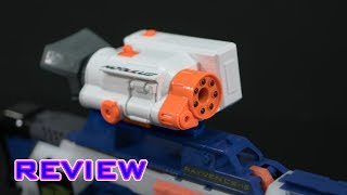 review nerf modulus zoom scope night vision?