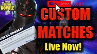 CUSTOM MATCHMAKING FOR SUBS (PS4, XBOX, PC, MOBILE/SWITCH) Fortnite #custommatchmaking #fortnite