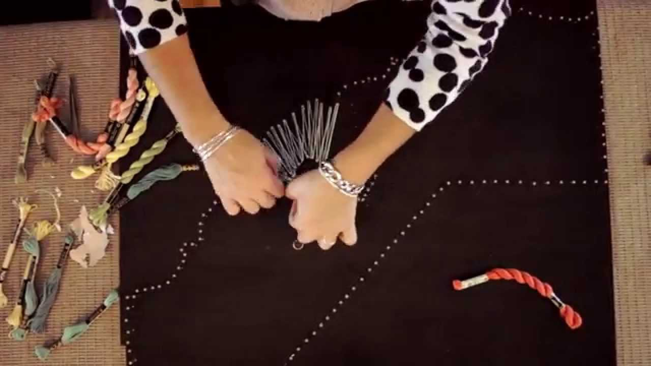 Diy Gift Ideas Nail String Art Tutorial State Youtube