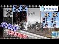【踏切】ななめ踏切 元加治 西武池袋線Railway crossing Seibu line(Saitama japa…