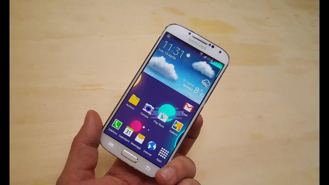 Samsung Galaxy S4 Lollipop: il video di HDblog.it - YouTube