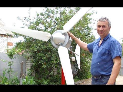видео: ВетроТерминатор, такого Вы еще не видели. Слабонервным Не смотреть!