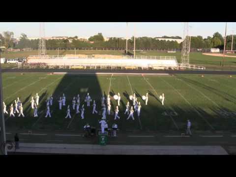 West Burlington High School at the Mount Pleasant Marching Invitational 2015