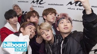 BTS and The Chainsmokers' Andrew Taggart Team Up For New Track | Billboard News