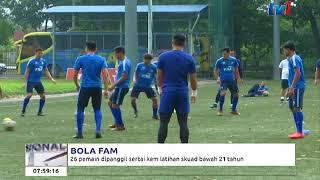 bola fam – 26 pemain dipanggil sertai kem latihan skuad bawah 21 tahun 15 mac 2018