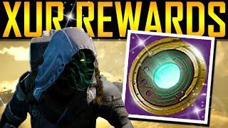 Destiny 2 -  XUR REWARDS! STRANGE COINS RETURN!