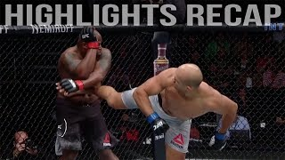 Derrick Lewis vs Junior Dos Santos Highlights Recap