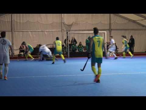 Australian Men's Indoor Hockey - Some Goals vs Royal Racing and Belgium