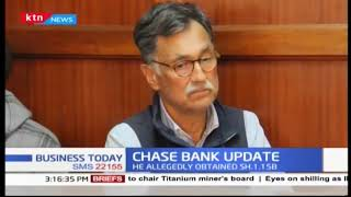 Former chairman of chase bank, Mohammed Zafrulla khan has been arraigned in court