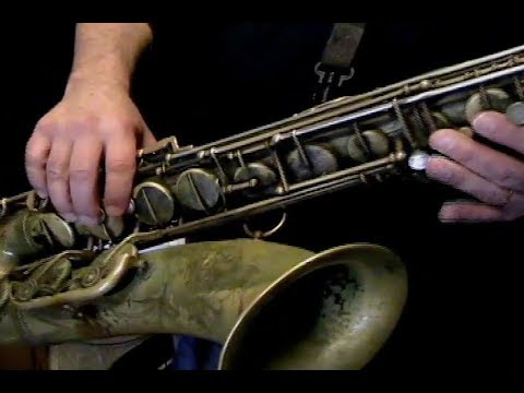 Soloing on Misty - Jazz Lesson Sample - Saxophone Lessons