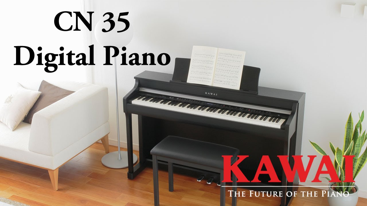 kawai cn35 digital piano demo english youtube. Black Bedroom Furniture Sets. Home Design Ideas