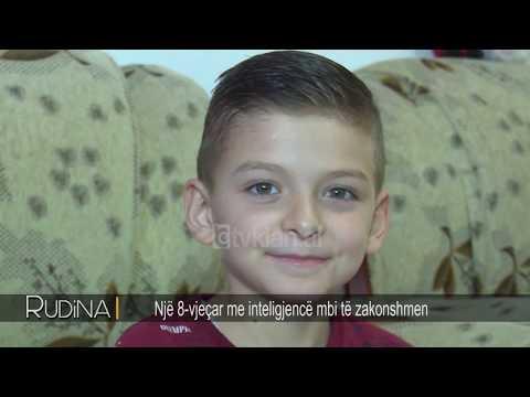 Rudina - Nje 8-vjecar me inteligjence te mbi zakonshme! (03 tetor 2018)