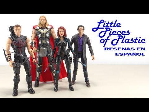 Avengers Age of Ultron Marvel Legends Amazon Juguete Reseña Revisión Review Little Pieces Plastic