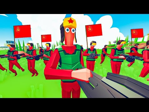 TABS - Huge Soviet Invasion in This Military Mod for Totally Accurate Battle Simulator!