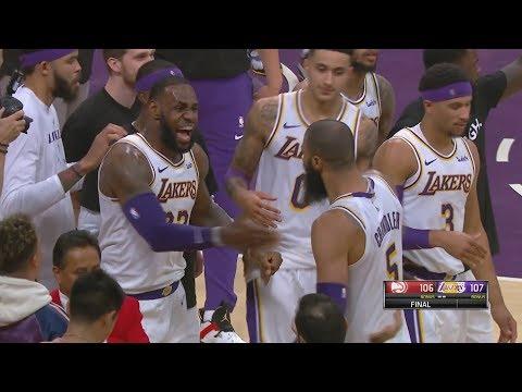Tyson Chandler Game Saving Block! Trae Young Deep 3s! 2018-19 NBA Season
