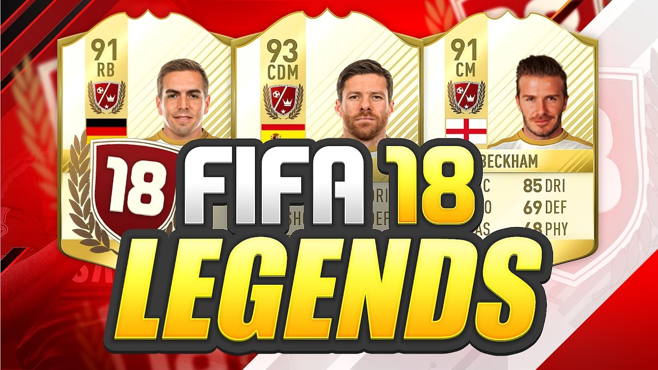 NEW FIFA 18 LEGEND CARDS?! - YouTube