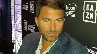 BREAKING NEWS: EDDIE HEARN UNCUT ALL ACCESS !! TALKS A.J. ! DEONTAY WILDER, TYSON FURY AND WHYTE !!