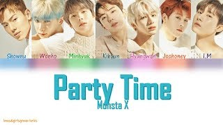 Monsta x (몬스타엑스) - party time all rights reserved starship entertainment lyrics/작사: 브라더수 (brothersu), 주헌, 아이엠 composer/작곡: caesar & loui, (brothersu) ar...