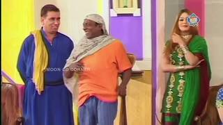 Nasir Chinyoti and Zafri Khan New Pakistani Stage Drama Full Comedy Clip