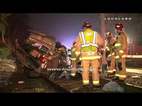 High Speed Fatal Crash / Torrance   RAW...