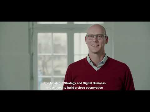 Master In Strategy And Digital Business (MSc)