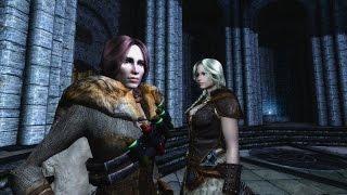 Прохождение Skyrim Association #13. Подружки навсегда! Вилья