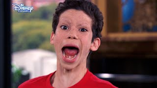 Jessie - OMG Luke Loses His Eyebrows! - Disney Channel UK HD