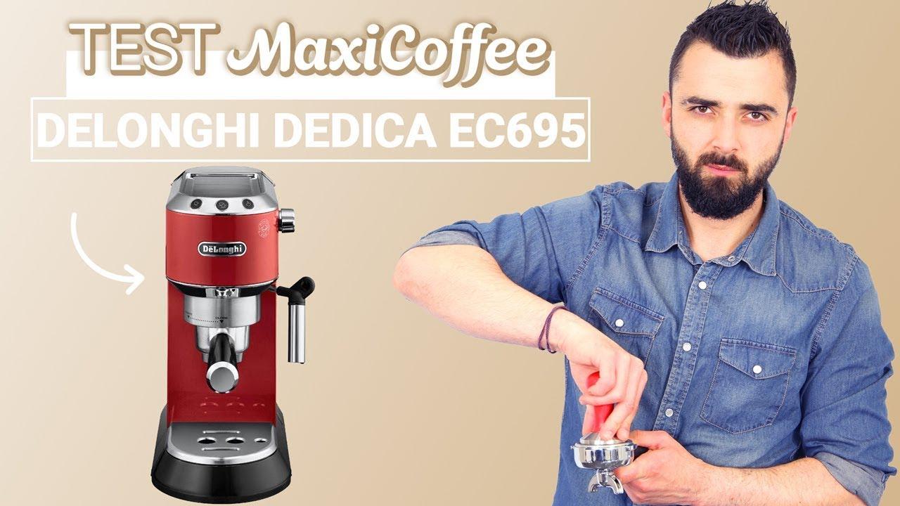 De /'Longhi EC680 DEDICA 15-Bar Pompe Machine à expresso filtre 2 tasses