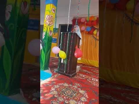 My daughter sana khan speech in school result programme  2018