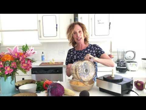 colorful cauliflower rice medley | raw food | dara dubinet