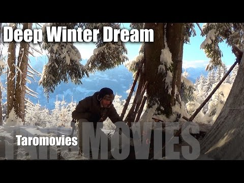 Solo Mountain Overnight in a Deep Winter Dream/HD