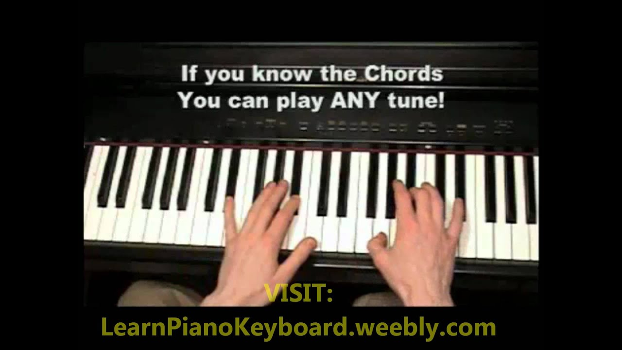Learn How To Play The Piano And Keyboard Now! WATCH THIS ...