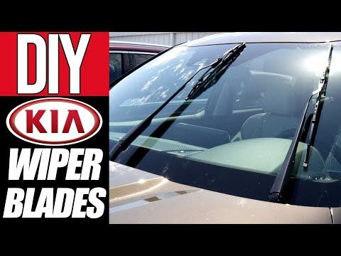 KIA Front/Rear Windshield Wipers   HOW TO REPLACE WIPER BLADES   Service Mode   NowCar
