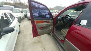 REXTON 2002 RJ290 4WD SUNROOF AT