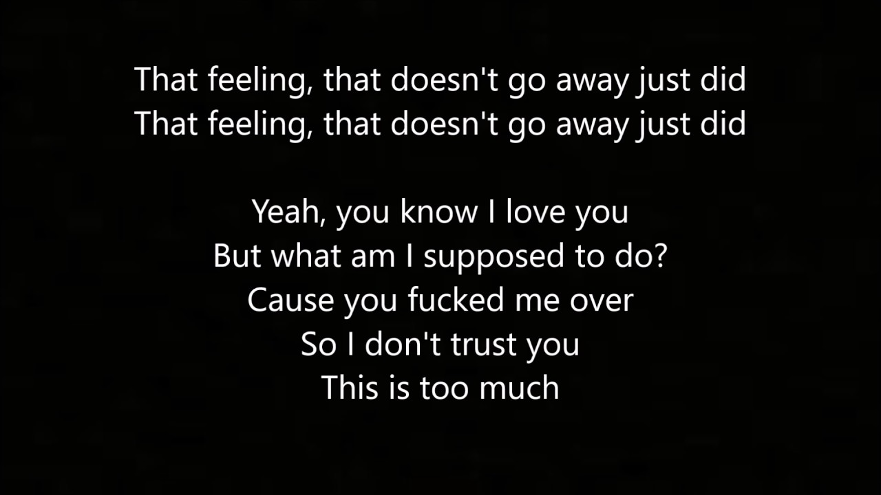 That Feeling - By: Russ (Lyrics) - YouTube