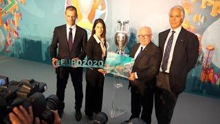 Svelato il logo di UEFA Euro Roma 2020