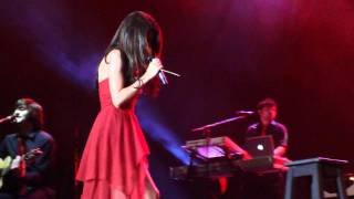 Selena gomez performing ghost of you @ club geba, buenos aires, argentina, 4th feb 2011 no copyright infringment intended.