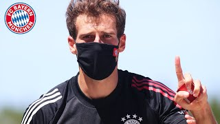 Wie spielt man gegen Lionel Messi? FC Bayern Pressetalk mit Leon Goretzka aus Portugal
