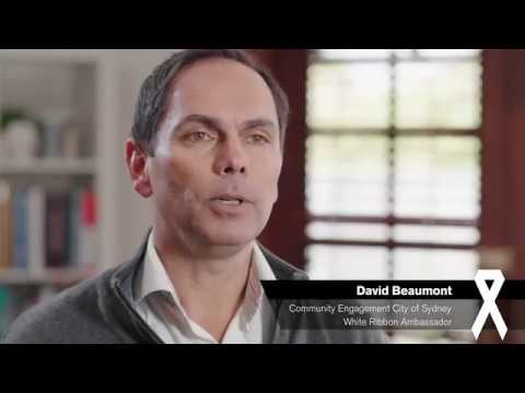 White Ribbon Ambassador Profile - David Beaumont